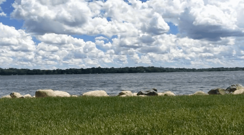 Time lapse video at Lake Darling in Alexandria