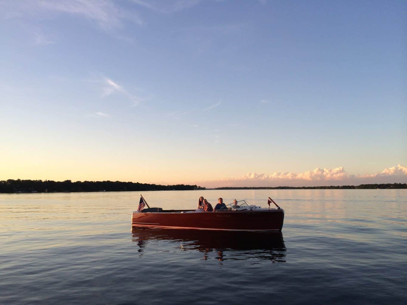 Chris-Craft on The Chain of Lakes