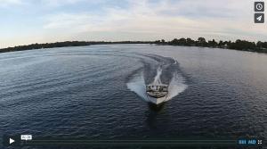 Chris-Craft cruising at Alexandria's Chain of Lakes