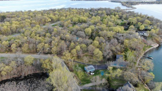 Lake Carlos lot for sale