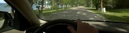 Driving on Lakeshore Drive