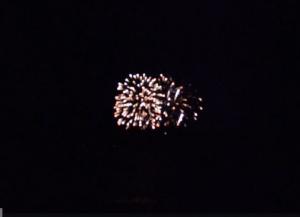 Fireworks in Alexandria