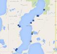 Lake Carlos home sales in 2014