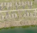 Aerial view of Lake Geneva in Alexandria, Minnesota
