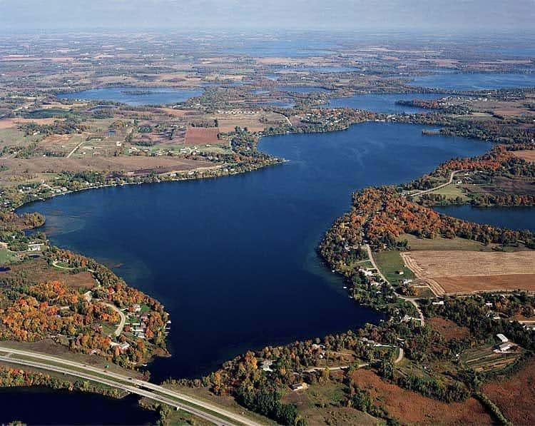 Lake Latoka aerial
