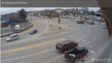 Live view of the corner of Broadway and Third Avenue in Alexandria, Minnesota