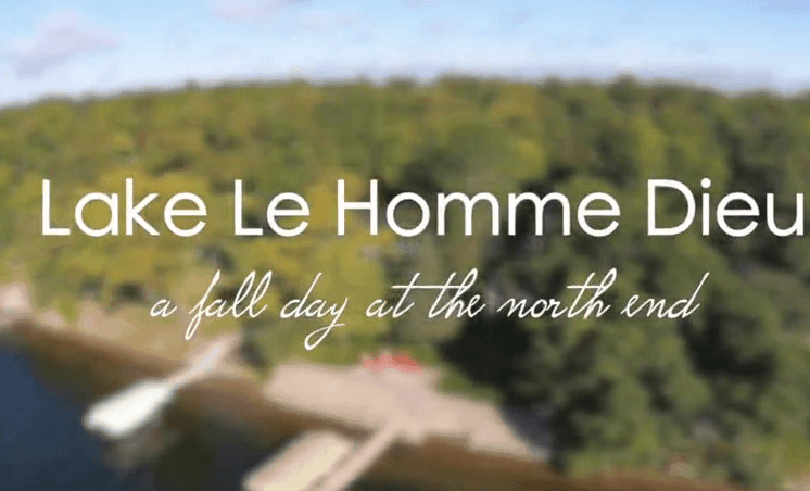 The North End of Lake Le Homme Dieu