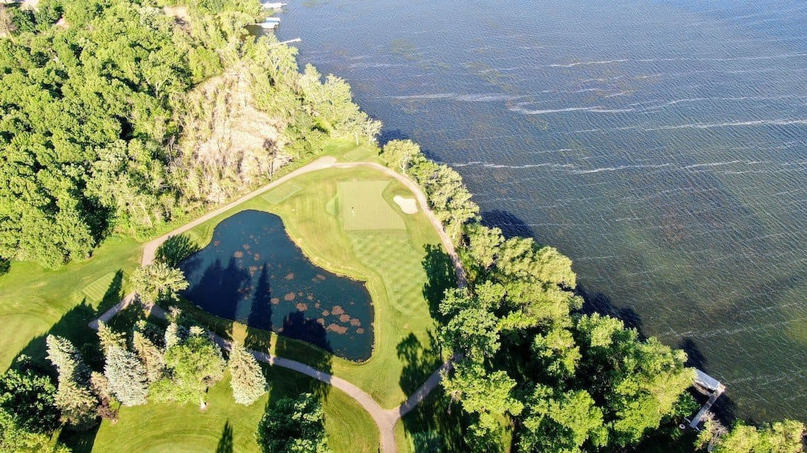 Minnesota Hole, Alexandria Golf Club