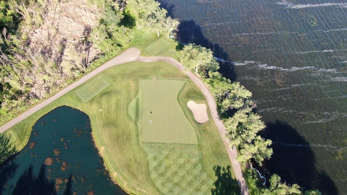 Minnesota Hole, Alexandria Golf Club