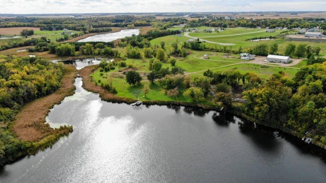 Whiskey Lake in Brandon, Minnesota