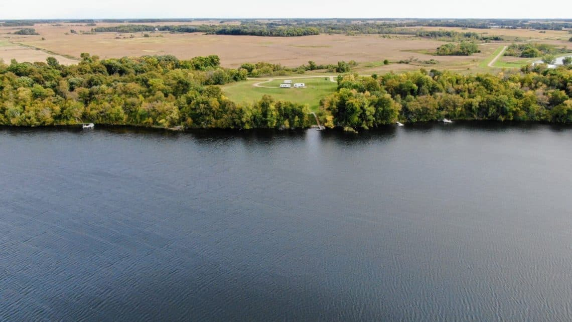 Whiskey Lake in Brandon, Minnesota
