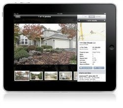 iPad for real estate searches in Alexandria, MN