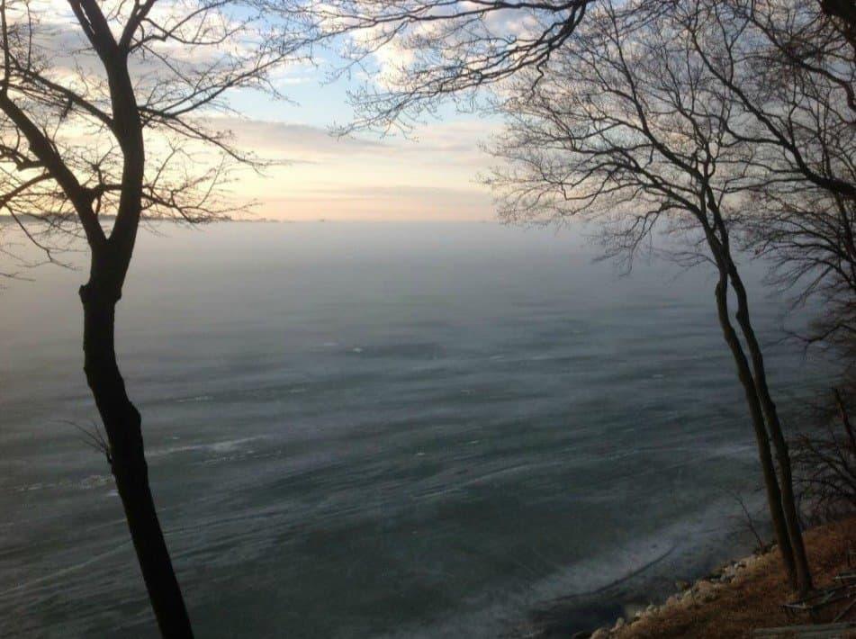 Lake Carlos fog
