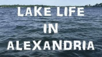 Lake life in Alexandria, MN