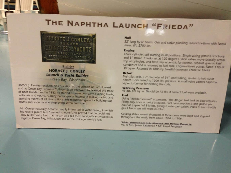 "The Naphtha Launch ""Frieda"""