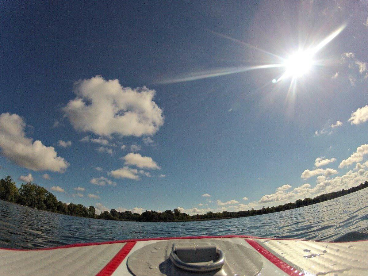 On Lake Brophy in Alexandria, Minnesota