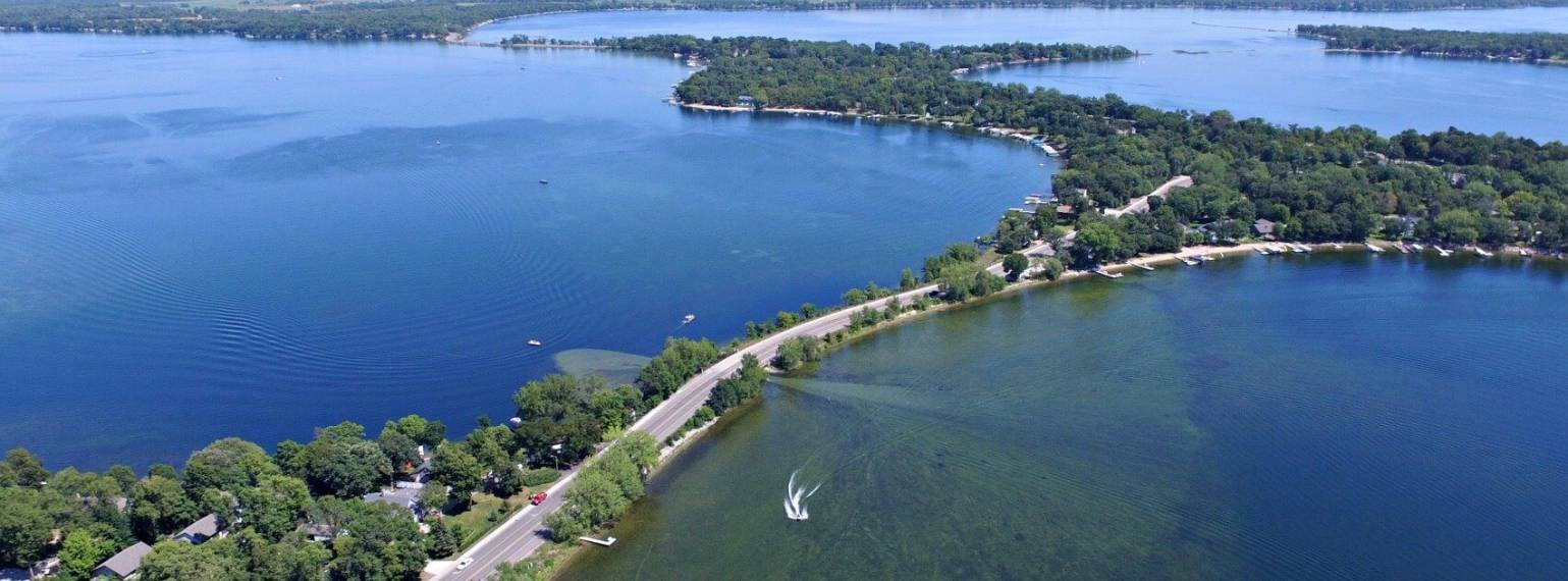 Find a home at a lake in Alexandria, MN