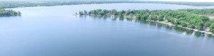 Above Lake Darling