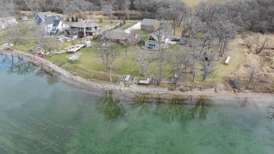 Maple Lake homes in Alexandria, Minnesota